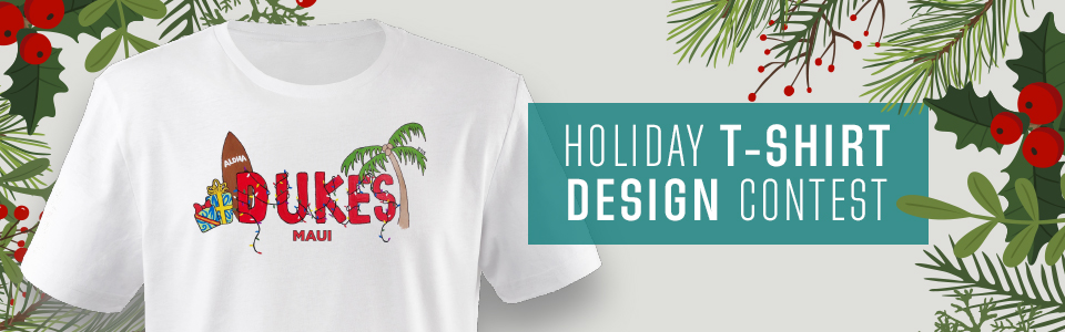 Holiday T-Shirt Design Contest Website Tile